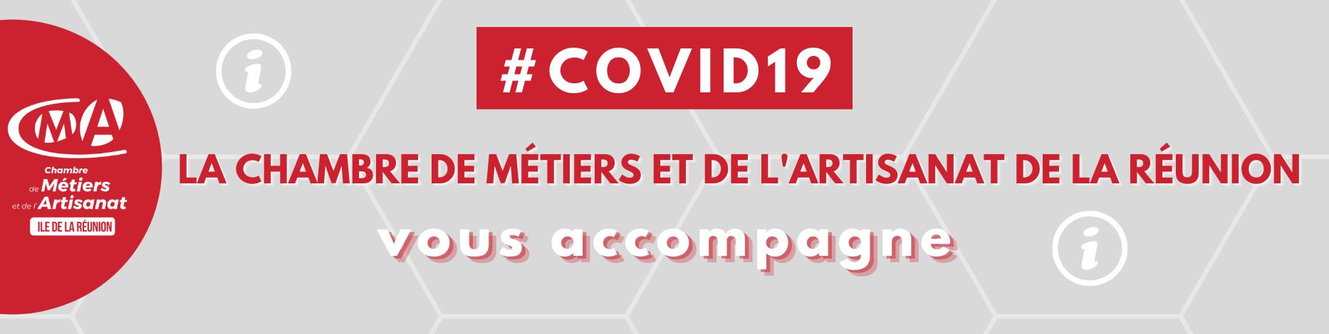 COVID19 La chambre de métiers et de l'artisanat de la réunion vous accompagne